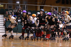 Albany All Stars100 (chimpmitten) Tags: rollerderby albany albanyny albanyallstars