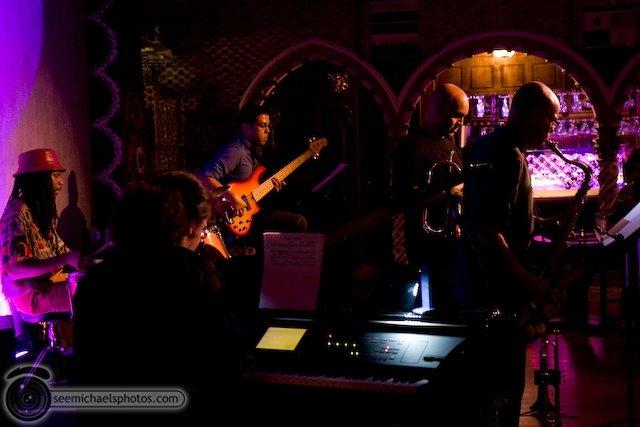 Derek Cannon Kamau Kenyatta Group at Tango Del Rey 92309 © Michael Klayman-001