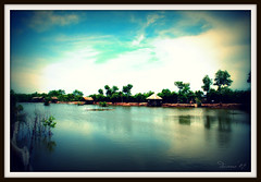 gone fishing! (Douano) Tags: lake fishing serenity cebucity dandee douano liloanfishingpond