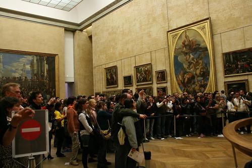 Turistas en el Museo