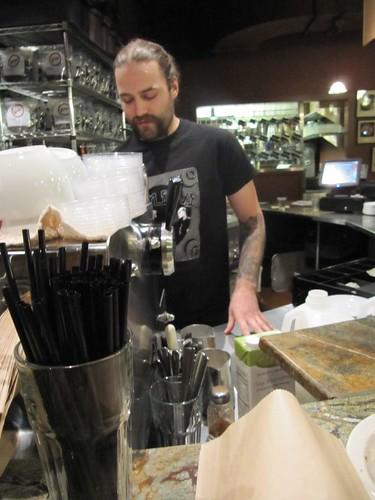 aweseom barista