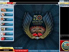 50States Casino Lobby