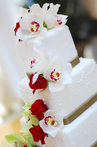 Daniela & Marino Wedding cake - flowers
