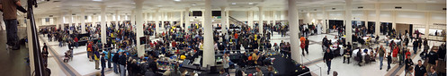 BrickCon 2009 panoramic view by V&A Steamworks.
