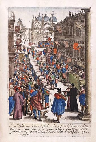 008-Desfile y fiesta veneciana-Habiti d'hvomeni et donne venetiane 1609