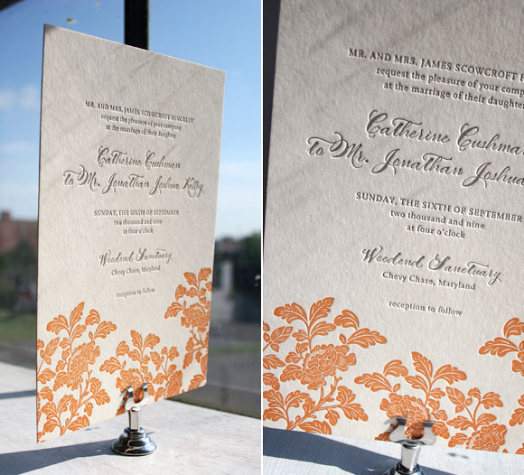Smock Design Contest - Rhon Letterpress Wedding Invitations