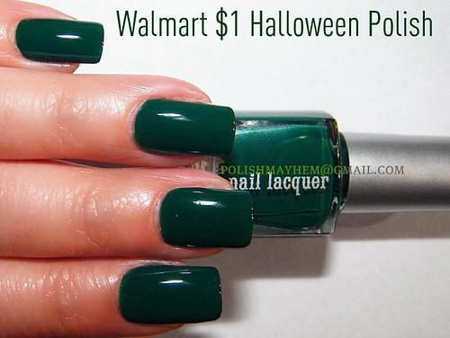 WalMart $1 Halloween Polish