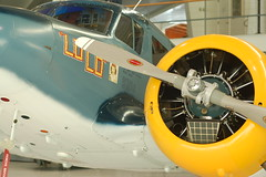 Open House, World War II re-enactment, and auto & airplane museum at Collings Foundation, Stow MA: Cessna UC-78 Bobcat (Chris Devers) Tags: plane airplane ma gun aircraft massachusetts wwii airshow worldwarii ww2 vehicle bobcat 2009 trainer cessna machinegun worldwar2 stow worldwartwo livinghistory bostonist collings collingsfoundation wingsoffreedom stowma universalhub bamboobomber wwiireenactment cameranikond50 ww2reenactment wingsoffreedomtour exif:exposure_bias=0ev exif:focal_length=50mm exif:exposure=002sec150 exif:aperture=f35 uc78 jrc1 camera:make=nikoncorporation exif:flash=offdidnotfire cessnauc78bobcat lens50f18 battlefortheairfield billstookey 1998grandchampionwarbird camera:model=nikond50 meta:exif=1257920951 exif:lens=50mmf18 exif:orientation=horizontalnormal exif:filename=dscjpg exif:vari_program=auto exif:shutter_count=36514 meta:exif=1350400970