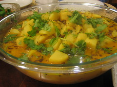 Spicy/Tangy Potato Curry