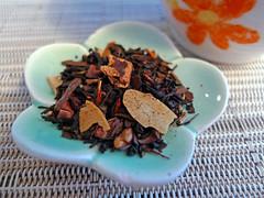 almond biscotti mat (buzzygirl) Tags: aqua tea mystuff loosetea catchycolorsblue alomondbiscotti