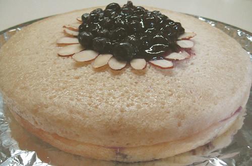 Chinese Sponge Cake, Fruit Tart Pic, image c/o Your Veganesse