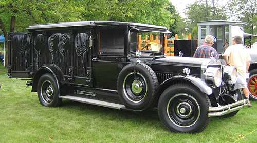 hearse 1929 cunningham