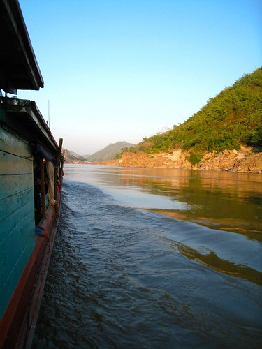 Sailing Down the Mekong (Color)