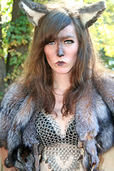 Wolf Woman (wyojones) Tags: woman girl beautiful beauty face look animal festival mouth eyes skins wolf texas expression c ears lips trf bite faire renfaire brunette renaissancefestival fangs facepaint renaissance renaissancefaire renfest midriff element chainmail rennie shewolf texasrenfest texasrenaissancefestival plantersville animalskins wolfwoman toddmission toddmissiontexas wyojones elementofair