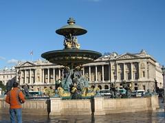 La Plaza de la Concordia, Paris.