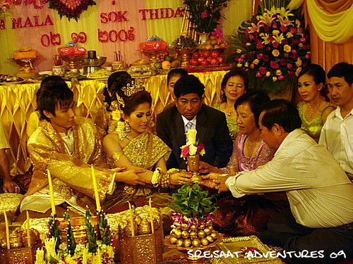Khmer wedding ritual