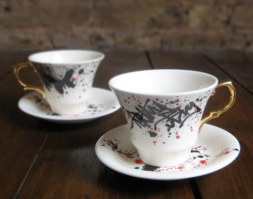 pretty ugly tea cups