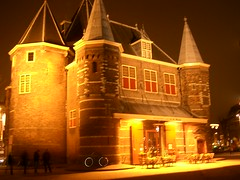 The Waag at night (paedrus) Tags: light netherlands amsterdam night thewaag