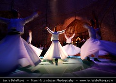 Turkey - Mystery of Whirling Dervishes in Istanbul (© Lucie Debelkova / www.luciedebelkova.com) Tags: turkey istanbul whirlingdervishes derviches dervishes whirling sema ceremony mevlana speed music dancing baile sufi sufismo orient estambul istambul turquía turkei turkiye turkish dervish religion muslim islam meditation mevlevi wirling dance people man customs traditions religious sufism europe travel middleeast asia minor asian destinations world locations performance european moslem symbolic spiritual trance mysticism islamic haman hamam rest bath turkbath turk human dancers ethnic person male group activity dancer tradition traditional building wwwluciedebelkovacom luciedebelkova