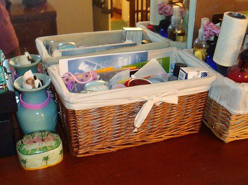 cleaner basket