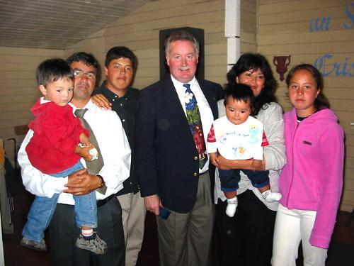 Rick with Pastor Antonio and family
