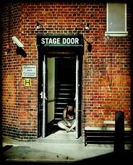 stage door (buckaroo kid) Tags: uk england brick london reading book theatre steps coventgarden stagedoor londonist welcomeuk