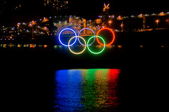 Olympic rings (Zorro1968) Tags: art vancouver sony artforsale 2010 olympicrings alpha700