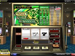 Mega Gold and Green