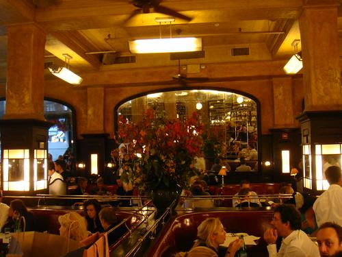 Vista del comedor del restaurante Balthazar