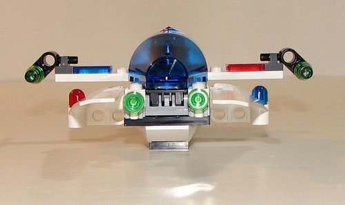 LEGO Space Police 5981 - Raid VPR - Completed - 8