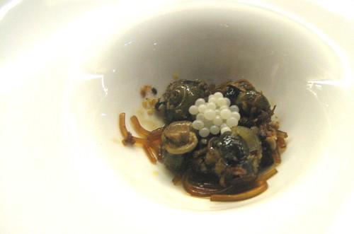 Snail Caviar Taste xo Sauce And Snail Caviar