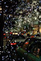 street (maaco) Tags: street light lights tokyo bokeh voigtlander illumination 40mm d60 ultron capturenx