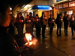 Vigil for Jason Mattison and Jorge Steven Lopez Mercado