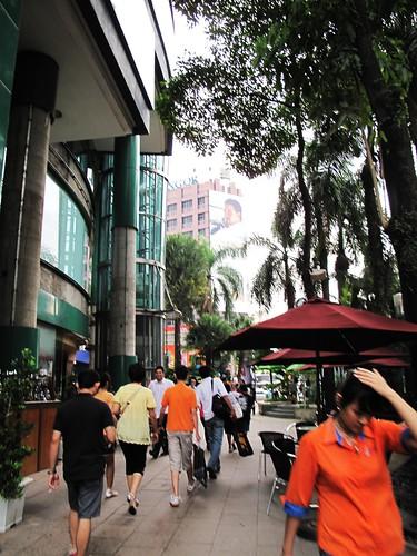 IMG_5288 吉隆坡正下着毛毛雨, It was drizzling , Kuala Lumpur , 2009