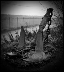 Anchor... (joe-fabulous) Tags: bw docks river clyde anchor rothesay