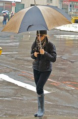 newyork sunglasses rain manhattan broadway upperwestside peeps umbrellas wellies