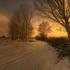 winter sunset (rinogas) Tags: winter sunset snow nikon tramonto neve inverno hdr topseven vertorama rinogas