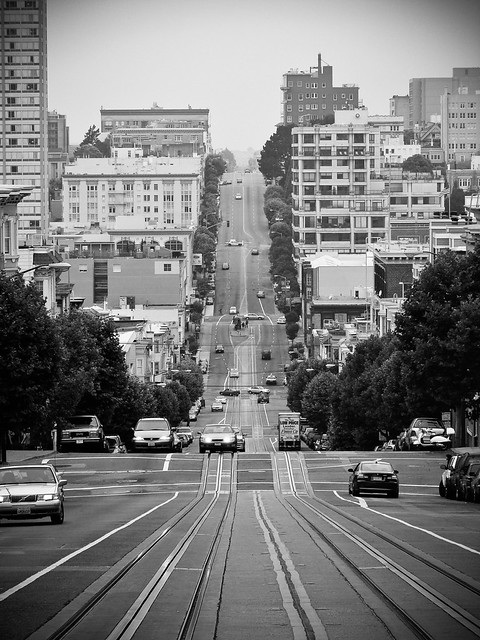 The streets of San Francisco par Franck Vervial