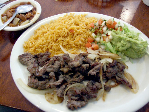 Beef Fajita Plate at Garcia's In Kyle, Texas by seanclaes