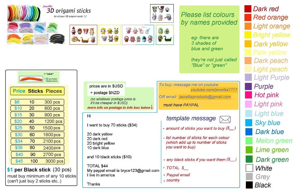 Blue39s Chinese 3d Modular Origami Basic Unit Diagram