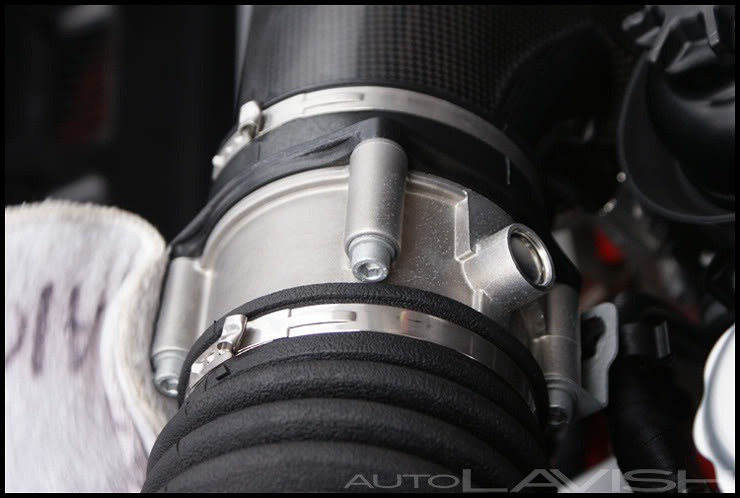 KAIO on a ferrari throttle body housing