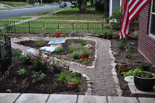 More gardening