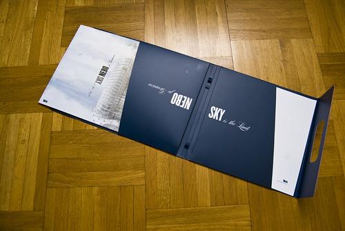 Sky Office brochure & folder