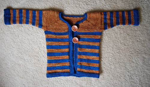 Baby Evans' sweater
