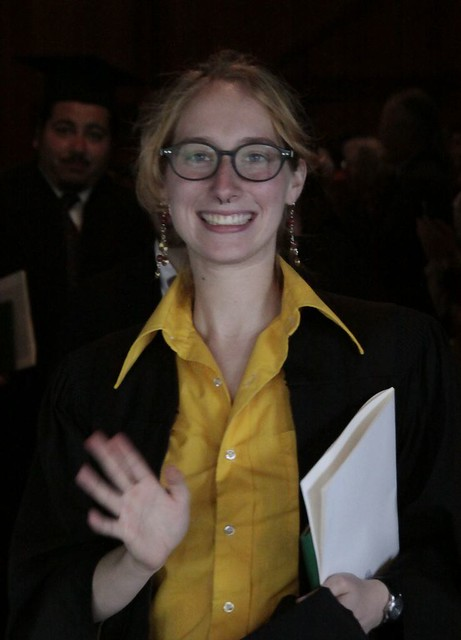 A Very Yellow Graduate