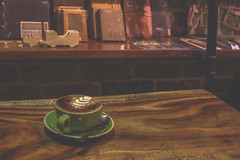 Coffee, Stationery, Retro ☕️ (S♡C) Tags: indoor cafe coffee cappuccino stationery retro nostalgic vintage antique mysweetmemory
