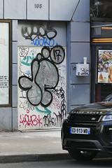 10Foot (Ruepestre) Tags: 10foot art paris france urbain urbanexploration urban graffiti graffitis streetart street ramses locko