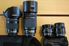 travel gear: lenses