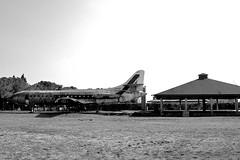 Rudere della Alitalia - Ceolini (nelventredellabalena) Tags: italia aereo biancoenero alitalia friuli pordenone rudere blackwhitephotos ceolini nelventredellabalena