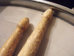 Drum sticks!!! (josephbarrett1) Tags: music drums sticks skin drum stick drumming oring
